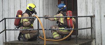 Brannsikkerhet lite