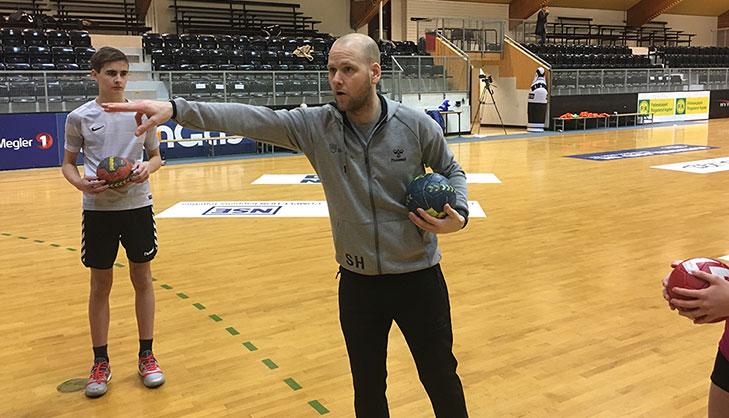 Håndball stor